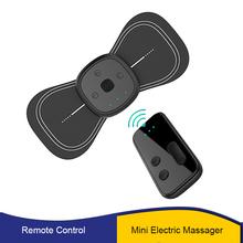 Przenośny akumulator Mini elektryczny masaż pleców na ramię masaż odcinka szyjnego stymulator ulga w bólu ładowanie Dropship tanie tanio YOVIP CN (pochodzenie) Średni BODY Back massager