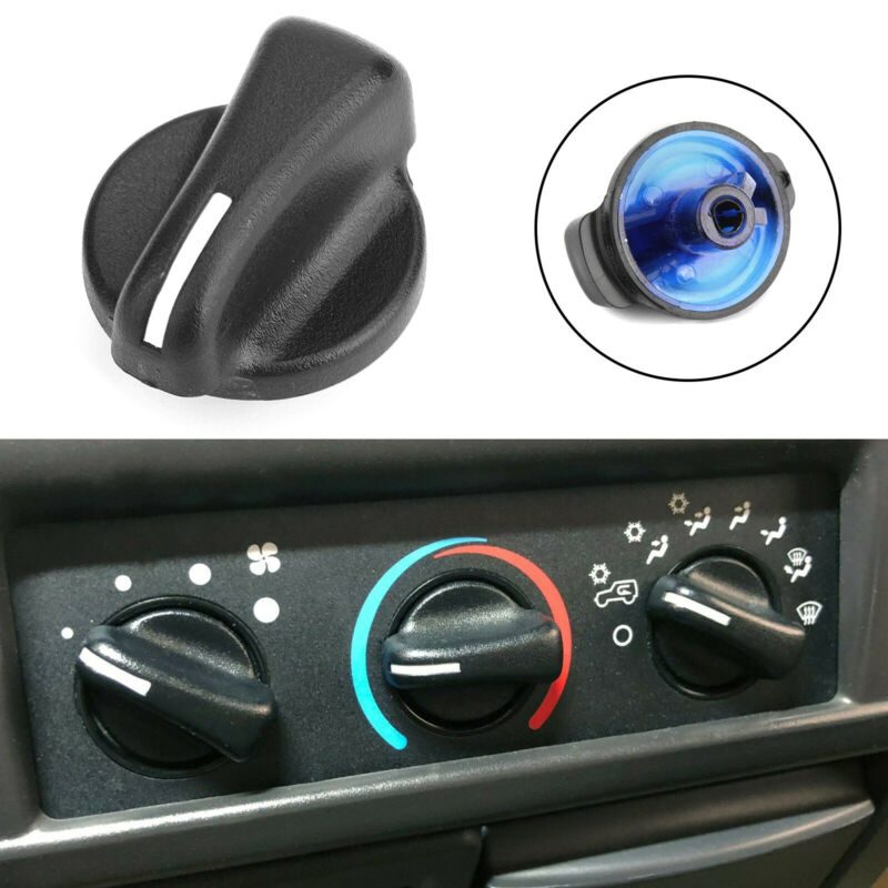Car Heater A/C Blower Fan Speed Control Knob Switch For Jeep Wrangler 1999-2006 Ram Van 98-03 Car Switches Relays