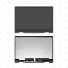 15.6 LCD Touch Screen Assembly With Bezel For 15-bp003ng 15-bp003nn 15-bp003nx 15-bp003tx 15-bp004na 15-bp004ni 15-bp004nn