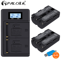 2x replacement battery NP-FM500H + bateria NP FM500H charger for Sony A200 A200K A200W A300 A350 A450 camera