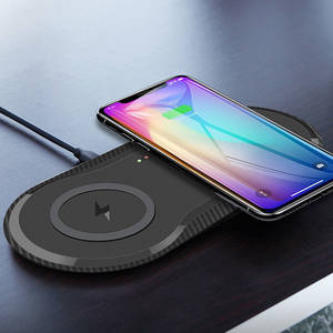 Wireless-Charger Dock-Station-Pad Usb-C Fast-Charging iPhone 11 Samsung S10 20W 10W