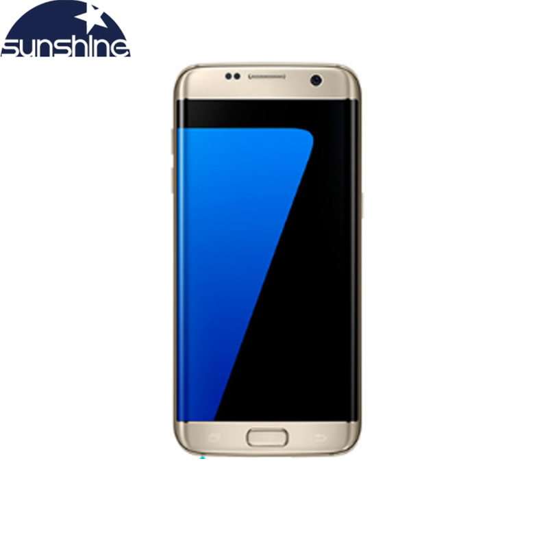 "Original Galaxy S7 Edge Samsung 4GB RAM 32GB ROM 5.5"" inch LTE Mobile Phone 12.0 MP Android Quad Core Unlocked Cell phone"