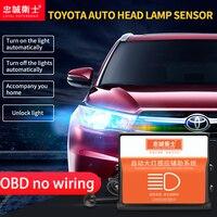 Car OBD Automatic headlight sensor forToyota AGYA Calya all new Avanza Rush Head Lamp Switch Control in Indonesia
