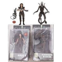 Original NECA Alien Series 14 Ripley 8 Resurrection Xenomorph Warrior Action Figure Model Toy Dolls Gift