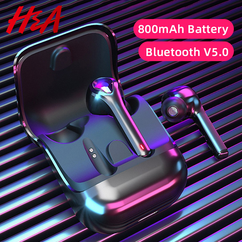 H&A G9 TWS Headphones Touch Wireless Bluetooth 5.0 Earphones Earbuds Noise Cancelling Gaming Headset For iPhone Xiaomi All Phone title=