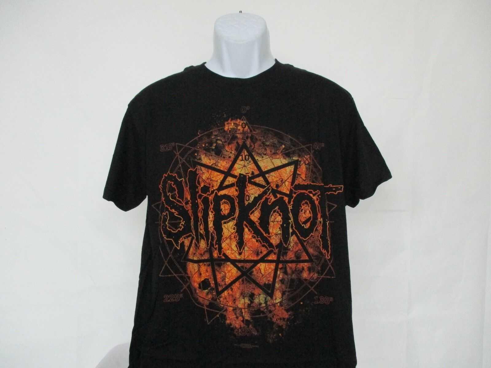 Slipknot วิทยุยิง-ความหวังทั้งหมดหายไปเสื้อยืดสีดำ-ขนาดผู้ใหญ่ M-XL ใหม่ (1)