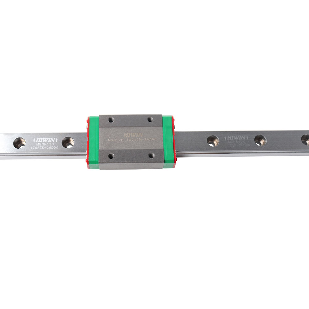 Genuine Hiwin MGN12H Carriages+400mm L MGNR12C Linear Rails For BLV MGN Cube 3d Printer