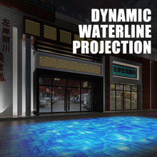 Yufan Водонепроницаемый Открытый 60 Вт расход эффект сценического светильник светодиодный динамический проекции проектор волна воды