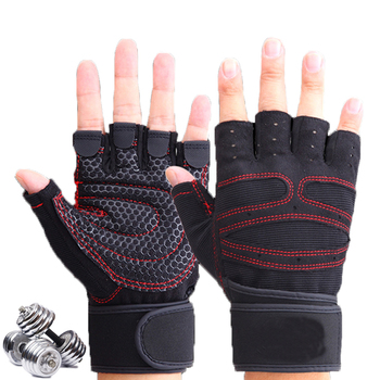 Body Building Gym Training Fitness WeightLifting Gloves For Men Women Workout Half Finger Guantes Exercise Gym Tactical Gloves