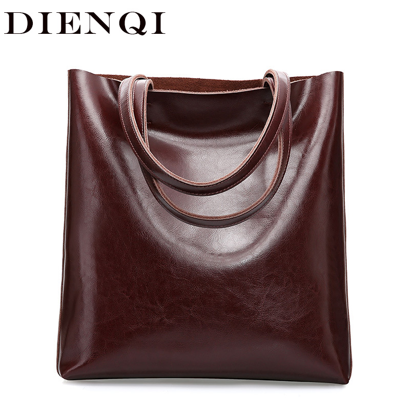 Big Cow Leather Shoulder Bag Ladies Genuine Leather Bags For Women Famous Brand Designer Handbag Female Fashion Hand Bags 2019