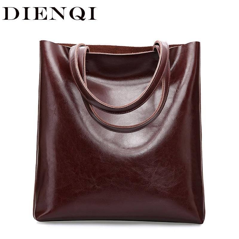 Big Cow Leather Shoulder Bag Ladies Genuine Leather Bags For Women Famous Brand Designer Handbag Female Fashion Hand Bags 2019