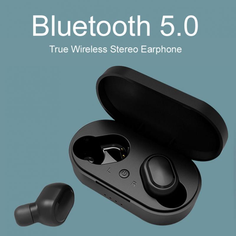 M1 HIFI TWS Bluetooth наушники IPX6 водонепроницаемые V5.0 наушники беспроводные наушники для Android IOS с зарядной коробкой