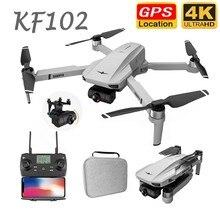 Dron KF102 con cámara HD 4K/6K/8K, profesional, GPS, 5G, WiFi, FPV, sin escobillas, larga distancia, 2021 M, plegable, RC, Quadcopter, VSG907, 1500