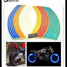 Новинка полосы мотоцикл мотокросса наклейка для колес светоотражающее накладное обрамление лента для Ducati MTS 695 Ducati Scrambler 748 900SS