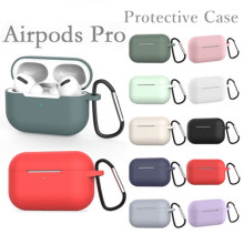 Silicone Case untuk Airpods Pro Case Nirkabel Bluetooth untuk Apple AirPods Pro Case Cover Earphone Case untuk Udara Pods Pro 3 Fundas(China)