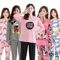 Großhandel Homewear Frühling Herbst Dünne Cartoon Kinder Pyjamas Set Lange Nachtwäsche Anzug Mädchen Pyjamas Set Kinder Nette Loungewear