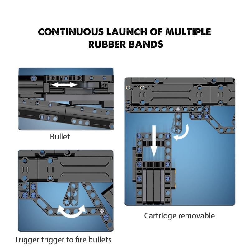 Cada C81006 Weapon Gun Model Building Blocks