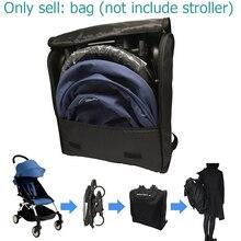 Kinderwagen rucksack kinderwagen organisieren reisetasche kinderwagen transport tasche für Babyzen Yoyo Yoya Yuyu und ähnliche kinderwagen