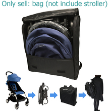 Mochila organizadora de viaje para cochecito, bolsa de transporte para silla de paseo Babyzen Yoyo Yoya Yuyu y cochecito similar