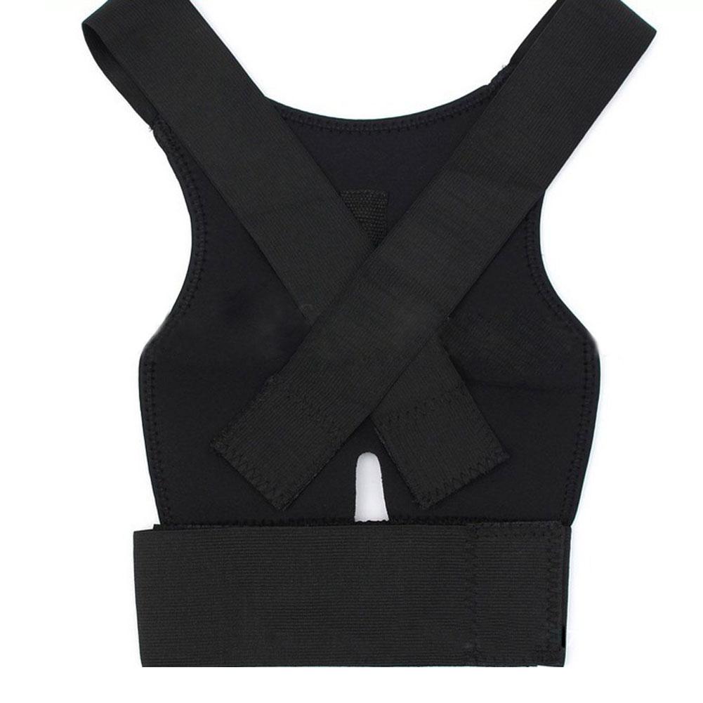 New Adjustable Neoprene Bady Shaper Posture Corrector Brace Shoulder Back Orthodontic Belt For Men Women Braces