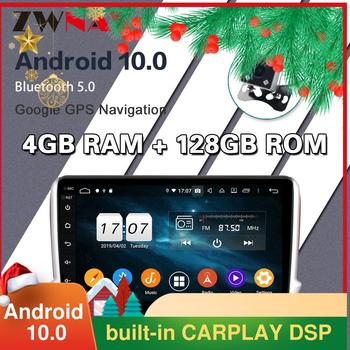 4G128G Android 10.0 screen Car Multimedia DVD Player for Peugeot PG208 2008 2015-2020 WiFi GPS Navi Auto Radio Stereo Head unit недорого