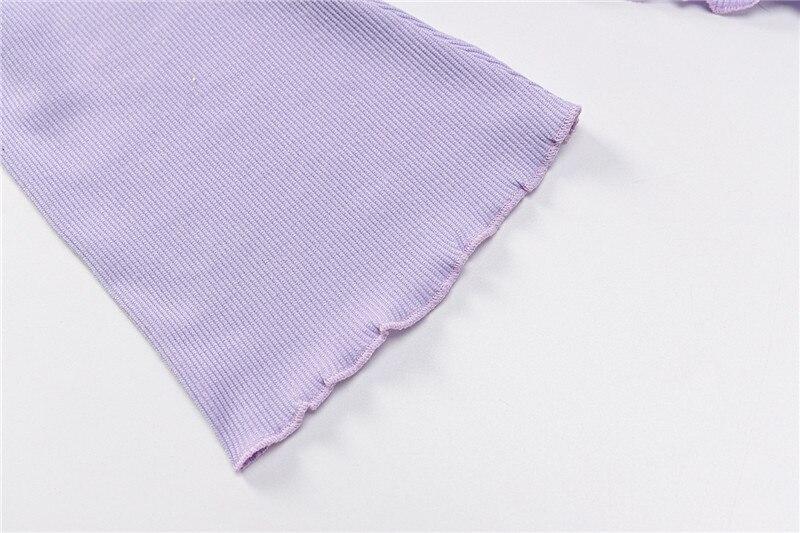 Knitting long sleeve top women19