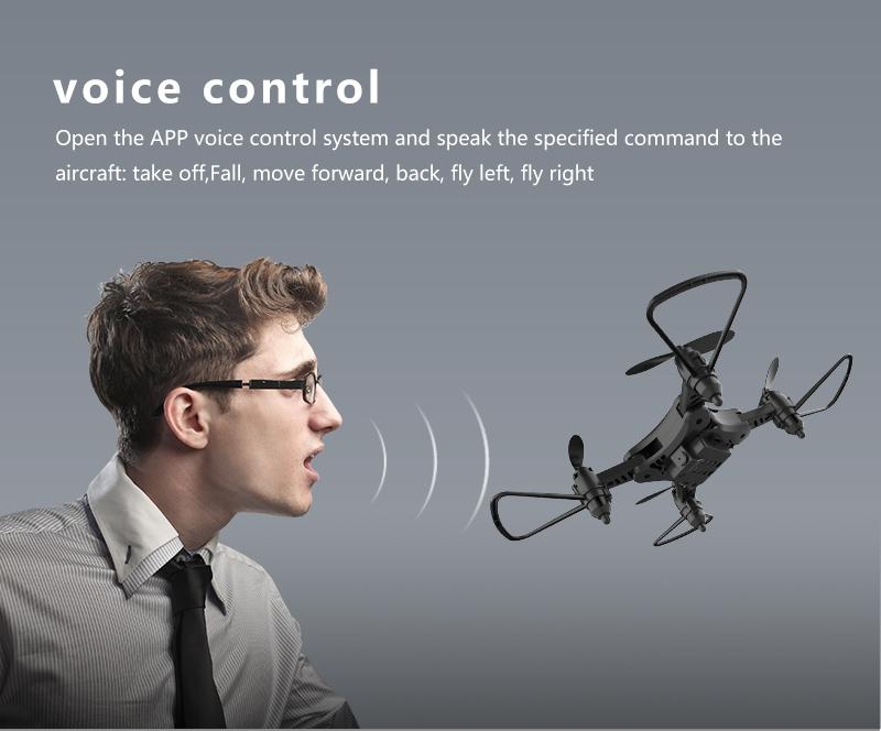 XKJ KY902 Mini Drone Quadcopter con cámara 4K HD 13