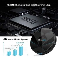 HK1 MINI Plus With Remote Control Stable Quad Core Network TV Box Smart High Definition Digital Media 4K BT Dual WiFi USB