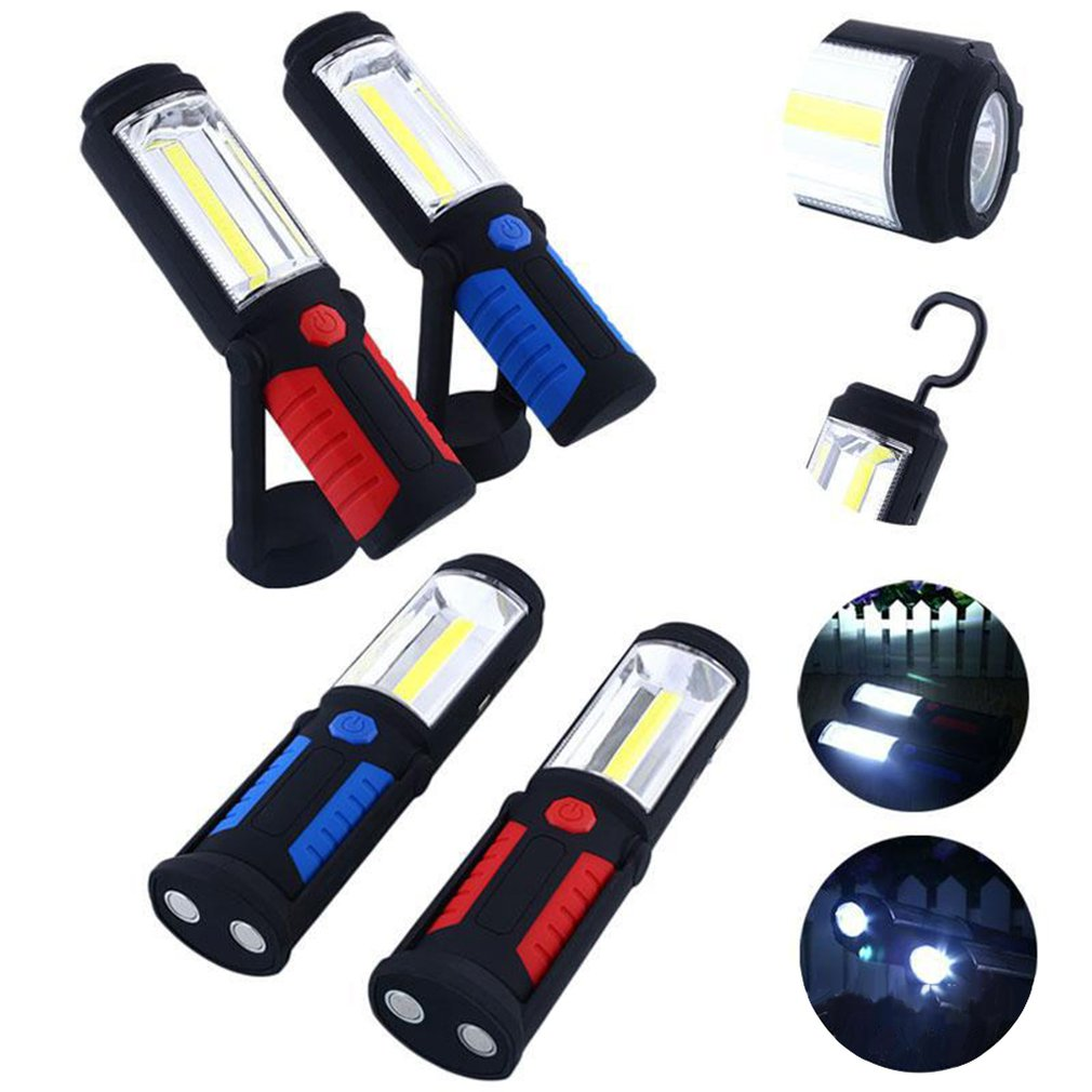 Multi-Function Cob Work Light Usb Charging With Magnet Inspection Light Car Maintenance Light Camping Light