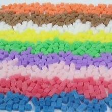 Boxi 10mm slime esponja kit aditivos espuma geléia cubo suprimentos diy sprinkles acessórios de enchimento para a nuvem macia limpar lodo brinquedos