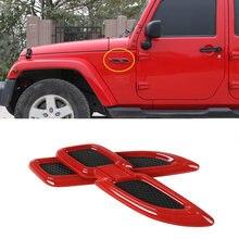 Крыло украшение для jeep wrangler jl 1997 2020 гладиаторы jt
