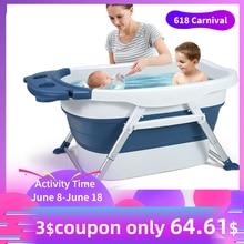 Baby Bathtub Portable Bathtub for Adults Child Swimming Pool Foldable B
