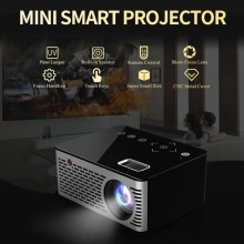 T200 Mini Micro LED Cinema Portable Video HD USB HDMI Projector for Home Theater