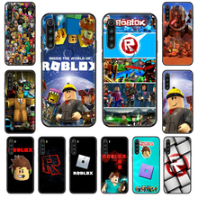 Game Roblox Phone case For Xiaomi Redmi Note S2 4 5 6 7 8 A S X Plus Pro black 3D coque painting prime fashion cell cover luxury(China)