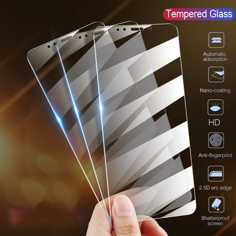 Anti-fall scratch Explosion-proof Tempered Protective Glass For Samsung <font><b>Galaxy</b></font> <font><b>A5</b></font> A7 A8 A9 A6 Plus <font><b>2018</b></font> <font><b>Screen</b></font> Protector Film image