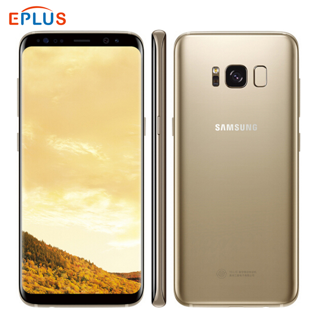 Tout nouveau Samsung Galaxy S8 Duos G950FD double SIM 4GB 64GB téléphone portable Exynos 8895 Octa Core 5.8