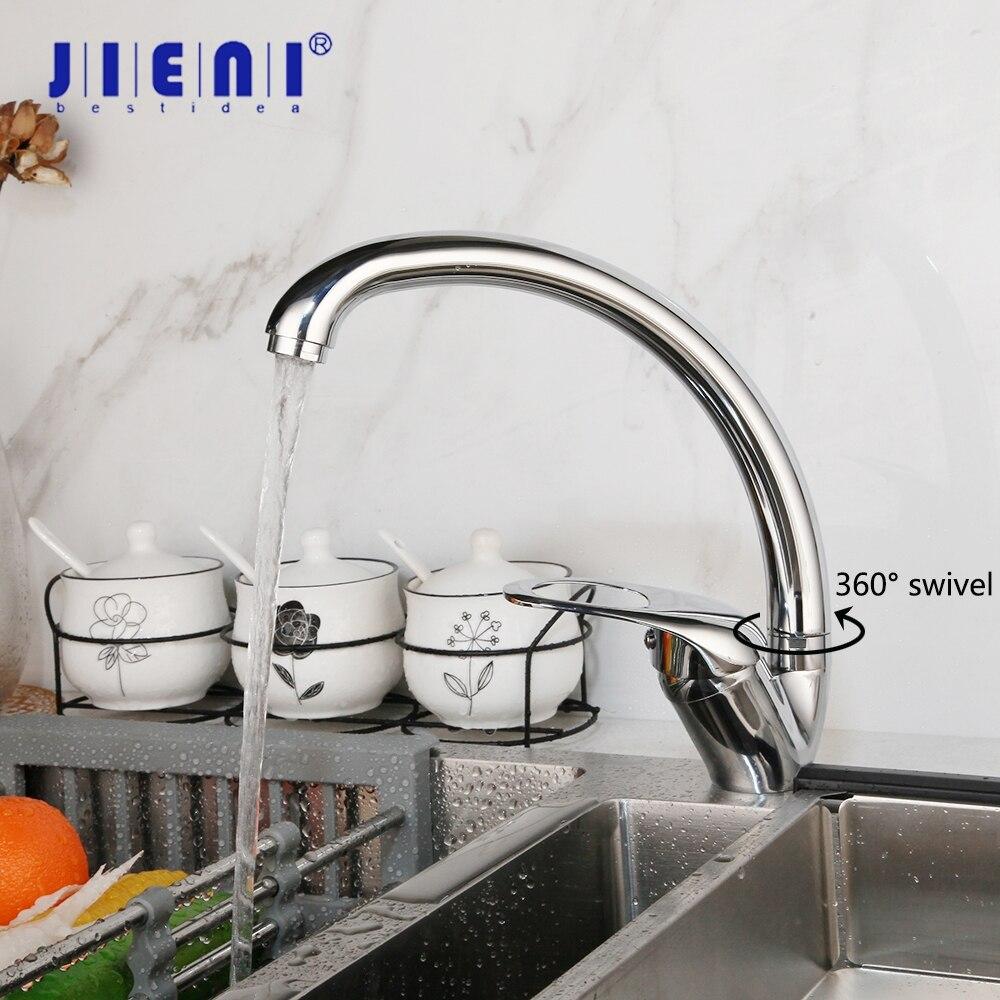 Grifo de cocina Grifo de aleaci/ón de zinc Grifo Sola palanca Ca/ño giratorio Mezclador de cocina Accesorios para grifos Filtro de agua potable de cromo