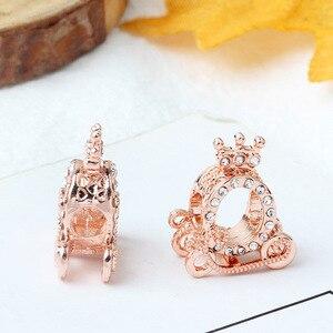 1 шт. ажурные Розовый Дейзи цветок мама бусины, семейные талисманы, подходят к оригинальным браслетам Pandora, для женщин, сделай сам, ювелирное изделие для изготовления из розового золота