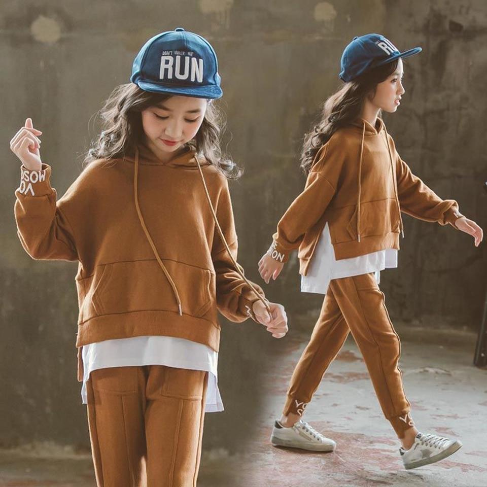 2019 Новинка весны одежда для маленьких мальчиков и девочек младенческой Повседневное Спортивная футболка и штаны 2 шт./компл. Детская одежда
