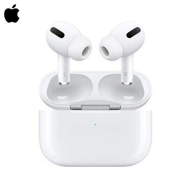 Apple-auriculares AirPods Pro TWS, inalámbricos por Bluetooth, color blanco, nuevo original, iOS, iPhone, air pods 3, reducción activa del ruido