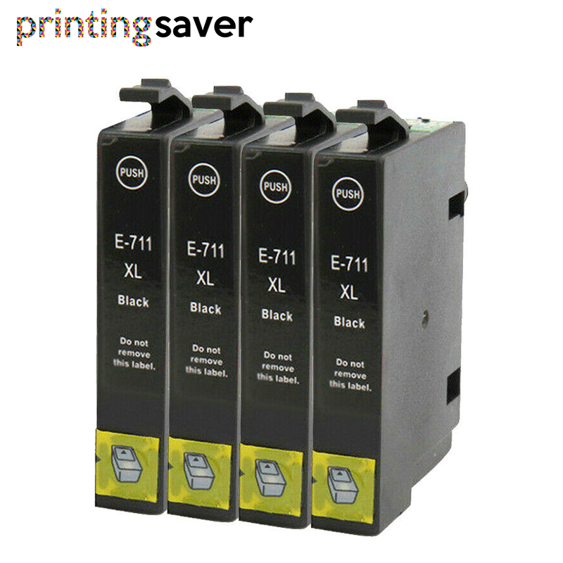 T0711 Ink Cartridge For <font><b>Epson</b></font> Stylus 0711 for D78 D92 D120 DX4000 SX210 SX215 SX218 SX115 SX400 SX405 SX410 SX415 SX605 image