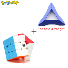 TXTWHY Qiyi Warrior W 3x3x3  Cube Magic Cube Professional 3x3 Speed Cubes Puzzles 3 by 3 Speed Cube Toys For Boys цена 2017