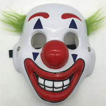 2019 New Horror Movie Joker Arthur Fleck Cosplay Mask Clown Masquerade Halloween Costumes Scary Masks