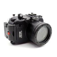 40M/130FT Waterproof Underwater Camera Housing diving Hard Case for Sony A5100 16 50mm Lens + 67mm Red Filter