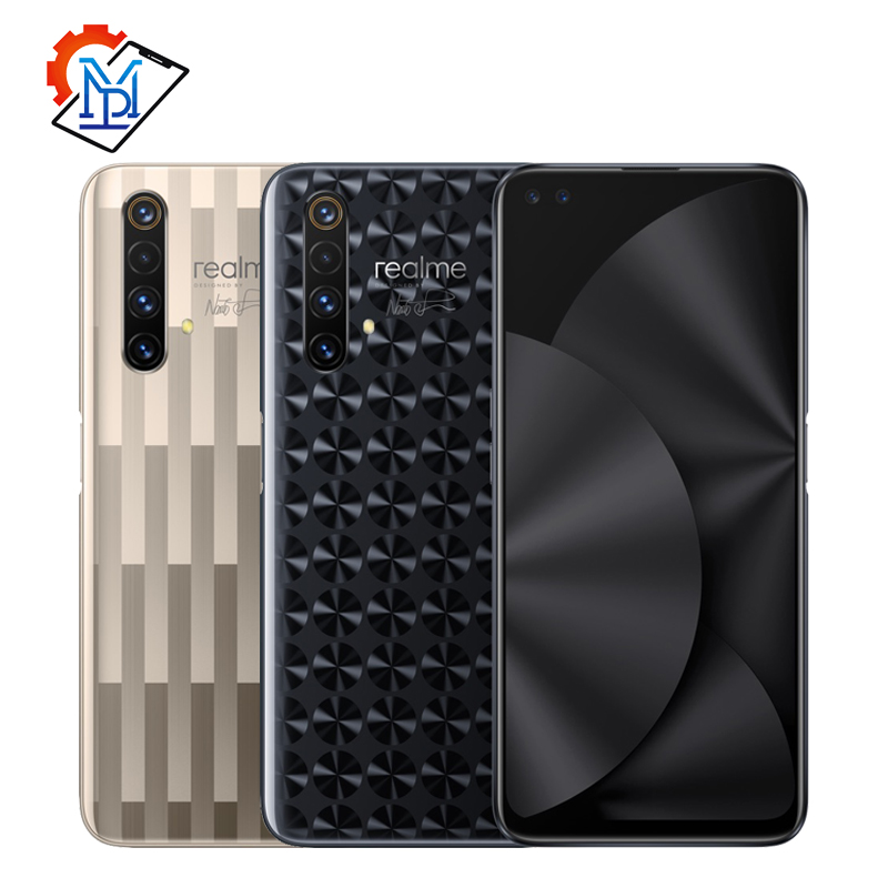 "Realme X50 5G Master Edition téléphone portable 6.57 ""12G + 256G Snapdragon 765G Android10 caméra 64MP quatre coups 4200mAh NFC Smartphone"