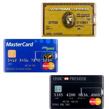 Usb Stick Master HSBC Credit Card Flash Drive 512GB Waterproof Pendrive 256GB Memory U Disk 128GB Pen Gift