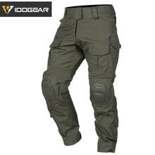 Idogear g3 calças de combate multicam militar do exército airsoft tático bdu calças camuflagem caça inverno 3205