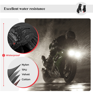 Image 3 - KEMiMOTO NEW 2020 Winter Motorcycle Gloves Protective Touch Screen Waterproof Windproof Warm Gloves Men Women Guantes Moto Luvas