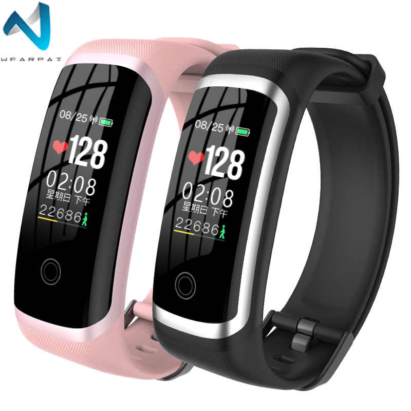 Wearpai M4 Fitness Watch Heart Rate Monitor Blood Pressure Fitness Tracker Waterproof Call Reminder Sport Watch for iOS Android