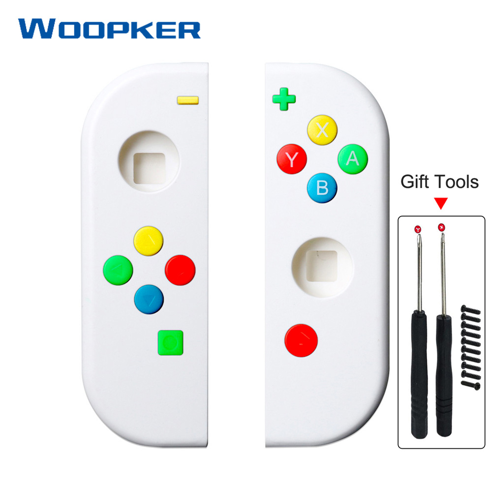 DIY NS Replacement Case for Nintend Switch Joy Con with Repair Tools Consoles Shell Cover Protection Housing